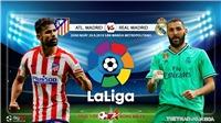 Soi kèo bóng đá: Atletico Madrid đấu với Real Madrid, La Liga. Trực tiếp Bóng đá TV