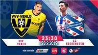 Venlo 0-3 Heerenveen: Heerenveen giành chiến thắng trong ngày Văn Hậu không được ra sân