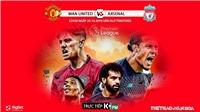 Kết quả bóng đá: MU đấu với Liverpool (22h30 hôm nay). K+, K+PM. Soi kèo Ngoại hạng Anh