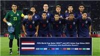 Thái Lan được thưởng 11,4 tỷ nhờ thắng Indonesia và UAE tại vòng loại WC 2022