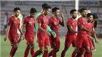U22 Indonesia thiệt quân trước trận gặp Việt Nam