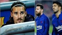 Barcelona: Griezmann tức giận vì bị cô lập, đồng đội không chịu chuyền bóng