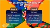 Lịch thi đấu bóng đá nữ SEA Games 30: VTV5 trực tiếp Việt Nam vs Thái Lan