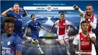 Soi kèo Chelsea đấu với Ajax. Trực tiếp bóng đá C1 (K+, K+PM, K+PC, K+1, K+NS)