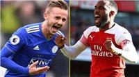 TRỰC TIẾP BÓNG ĐÁ: Leicester đấu với Arsenal (00h30 ngày 10/11)