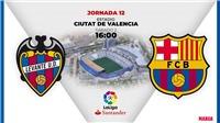 Kết quả bóng đá Levante 3-1 Barcelona: Barca thua ngược đầy cay đắng trên sân khách