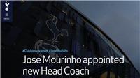 CHÍNH THỨC: Tottenham bổ nhiệm Jose Mourinho làm HLV thay Pochettino