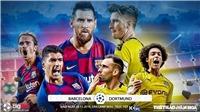 Soi kèo Barcelona đấu với Dortmund. K+, K+PM trực tiếp bóng đá C1
