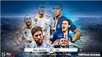 Soi kèo Real Madrid đấu với PSG. K+, K+PM trực tiếp bóng đá C1