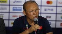 HLV Park Hang Seo: 'Bàn thua đầu là lỗi Văn Toản, nhưng tôi không so sánh thủ môn với nhau'