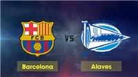Trực tiếp bóng đá Barcelona vs Alaves (22h00 ngày 21/12). Trực tiếp bóng đá TBN