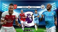 Kèo Arsenal vs Man City. Soi kèo Ngoại hạng Anh. Trực tiếp K+, K+PM