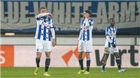 Văn Hậu được vinh danh trong ngày đối thủ cạnh tranh vị trí ở Heerenveen mắc sai lầm