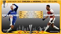 VIDEO Chelsea 4-1 Arsenal: Hazard và Giroud tỏa sáng, Chelsea giành Europa League