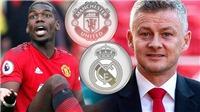 MU: Solskjaer phản ứng về tin Pogba sang Real, hé lộ 'Quỷ đỏ' sẽ có giám đốc thể thao