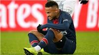 Neymar vắng mặt ở trận lượt đi vòng 1/8 Champions League, M.U mừng thầm