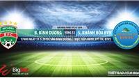 Trực tiếp bóng đá: HAGL vs Hà Nội, Bình Dương vsKhánh Hòa (17h00, 31/05). Xem trực tiếp VTV6