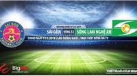Sài Gòn vs SLNA: Nhận định và trực tiếp bóng đá (19h00, 31/05). Bảng xếp hạng V League 2019
