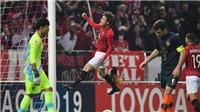 AFC Champions League: Xuân Trường dự bị, Buriram United nhận cái kết đắng trước Urawa Red Diamonds