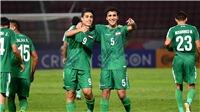 VTV6 trực tiếp bóng đá hôm nay: U23 Thái Lan đấu với U23 Iraq, U23 châu Á 2020