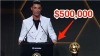 Cristiano Ronaldo gây choáng khi đeo chiếc đồng hồ đắt giá nhất của Rolex