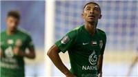'Pele của U23 UAE' phải về trước sau trận giao hữu với đội của Văn Lâm