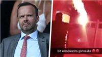 MU: Fan cuồng Quỷ đỏ dùng bom khói tấn công nhà của Ed Woodward