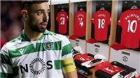 CHUYỂN NHƯỢNG MU 29/1: Bruno Fernandes sắp kiểm tra y tế. MU theo đuổi tiền đạo của Valencia