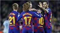 KẾT QUẢ BÓNG ĐÁ Barca 2-1 Getafe: Griezmann tỏa sáng, Barca tiếp tục bám đuổi Real Madrid
