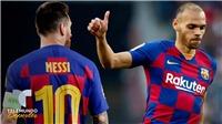 Barca: Tân binh Braithwaite quyết định không giặt áo sau khi ôm Messi