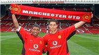 Lộ lí do thực sự khiến Cristiano Ronado chuyển tới MU năm 2003