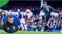 Everton 1-1 MU: Solskjaer vẫn tin tưởng De Gea 100% sau sai lầm ở trận hòa với Everton