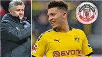 Jadon Sancho có điều khoản rời Dortmund Hè này, sẽ mặc áo số 7 ở MU