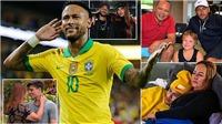 Gia đình đặc biệt của Neymar: Bố là người đại diện, mẹ cặp kè 'phi công' trẻ hơn cả con trai