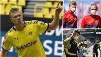 Dortmund 4-0 Schalke: Haaland tiếp tục tỏa sáng, Dortmund 'phả hơi nóng' vào Bayern Munich