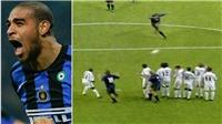 Adriano phá kỷ lục thế giới với cú sút đạt vận tốc 168,9 km/h vào lưới Real