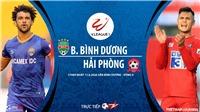 Soi kèo nhà cái Bình Dương vs Hải Phòng. TTTV trực tiếp bóng đá Việt Nam hôm nay