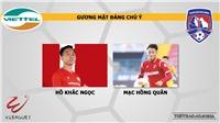 Soi kèo bóng đá Viettel vs Than Quảng Ninh. Trực tiếp bóng đá VLeague 2020