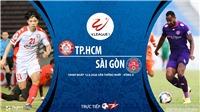 Soi kèo bóng đá TP.HCM vs Sài Gòn. Trực tiếp bóng đá vòng 4 V-League 2020