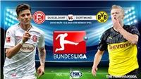 Soi kèo nhà cái Dusseldorf vs Dortmund. Trực tiếp bóng đá vòng 31 Bundesliga. FOX Sports