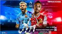 Soi kèo nhà cái Man City vs Arsenal. Vòng 28 Ngoại hạng Anh. Trực tiếp K+NS.