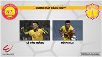 Nhận định và dự đoán Thanh Hóa vs Nam Định. Trực tiếp bóng đá Vleague 2020