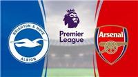 Cập nhật trực tiếp bóng đá ngoại hạng Anh vòng 30: Brighton vs Arsenal