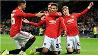 Kết quả bóng đá, MU 3-0 Sheffield: Martial lập hat-trick, 'Quỷ đỏ' giành chiến thắng thuyết phục