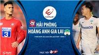 Soi kèo bóng đá Hải Phòng vs HAGL. Trực tiếp bóng đá Việt Nam. V-League 2020