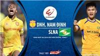 Soi kèo bóng đá Nam Định vs SLNA. Trực tiếp bóng đá Việt Nam. V-League 2020