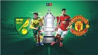 Kết quả bóng đá Norwich 1-2 MU: Maguire sắm vai người hùng, MU vào Bán kết FA Cup