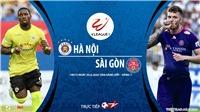 Soi kèo bóng đá Hà Nội vsSài Gòn. Trực tiếp bóng đá Việt Nam. V-League 2020