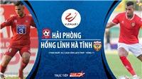 Soi kèo bóng đá Hải Phòng vsHồng Lĩnh Hà Tĩnh. Trực tiếp bóng đá V-League 2020
