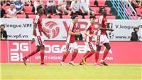 Kết quả bóng đá TPHCM 0-3 Hà Nội: Sụp đổ trong hiệp 2, TP.HCM nhận trái đắng trước Hà Nội FC